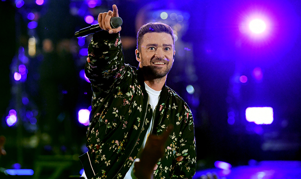Justin Timberlake performs onstage during the 2018 iHeartRadio Music Festival at T-Mobile Arena on September 22, 2018 in Las Vegas, Nevada. He had to postpone the rest of his current tour.