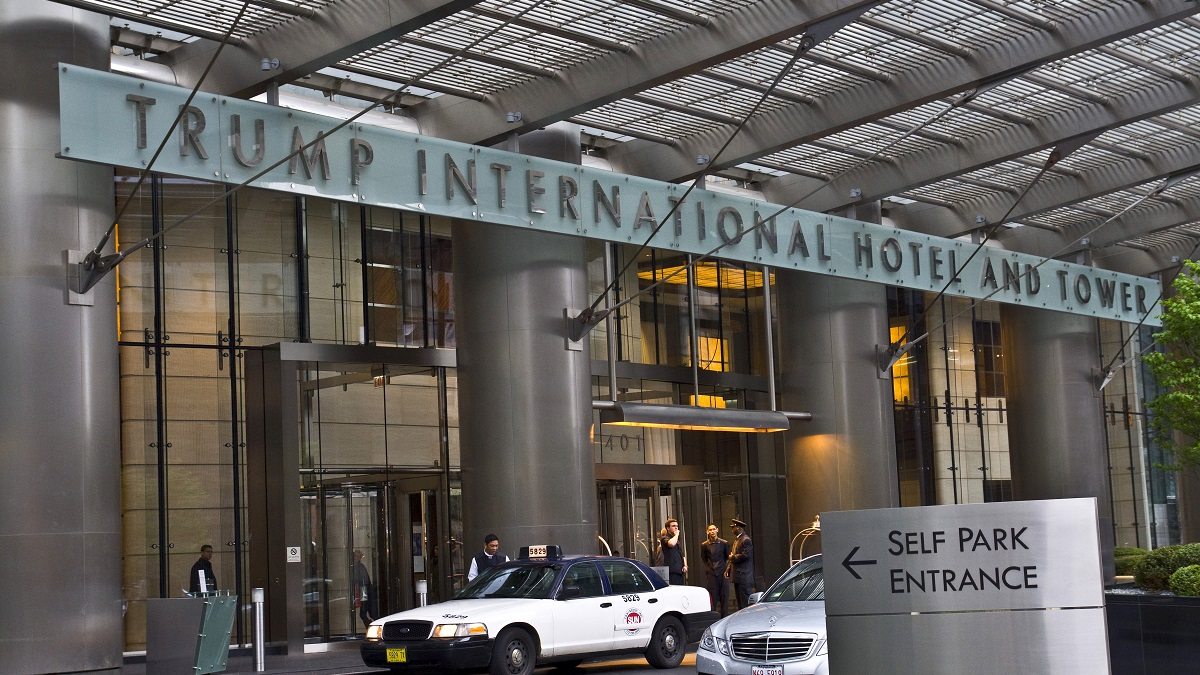 Trump International Hotel And Tower, in Chicago, Illinois on MARCH 25, 2011.