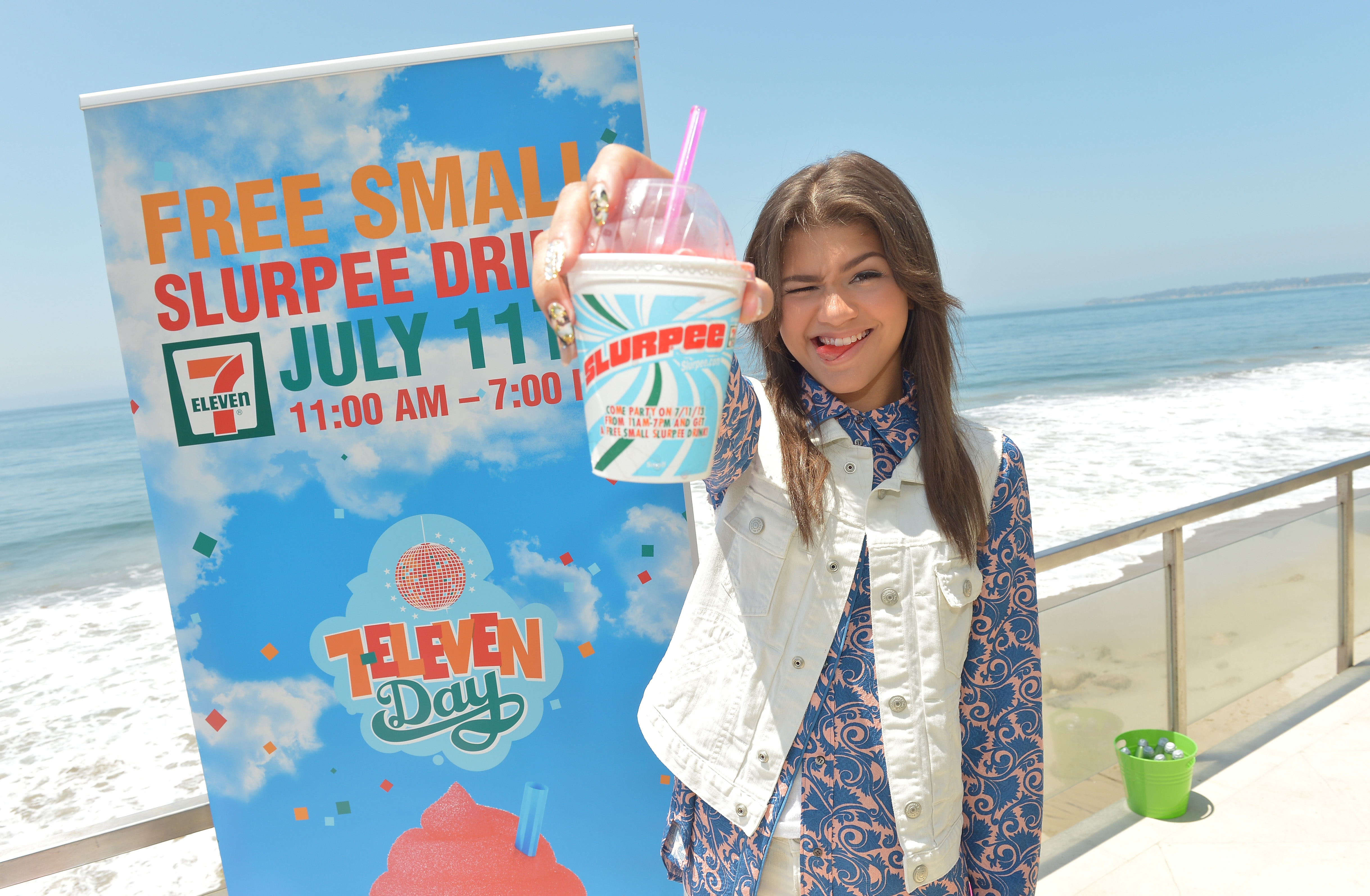 This Saturday, July 11, 7-Eleven will hold its annual Free Slurpee Day.