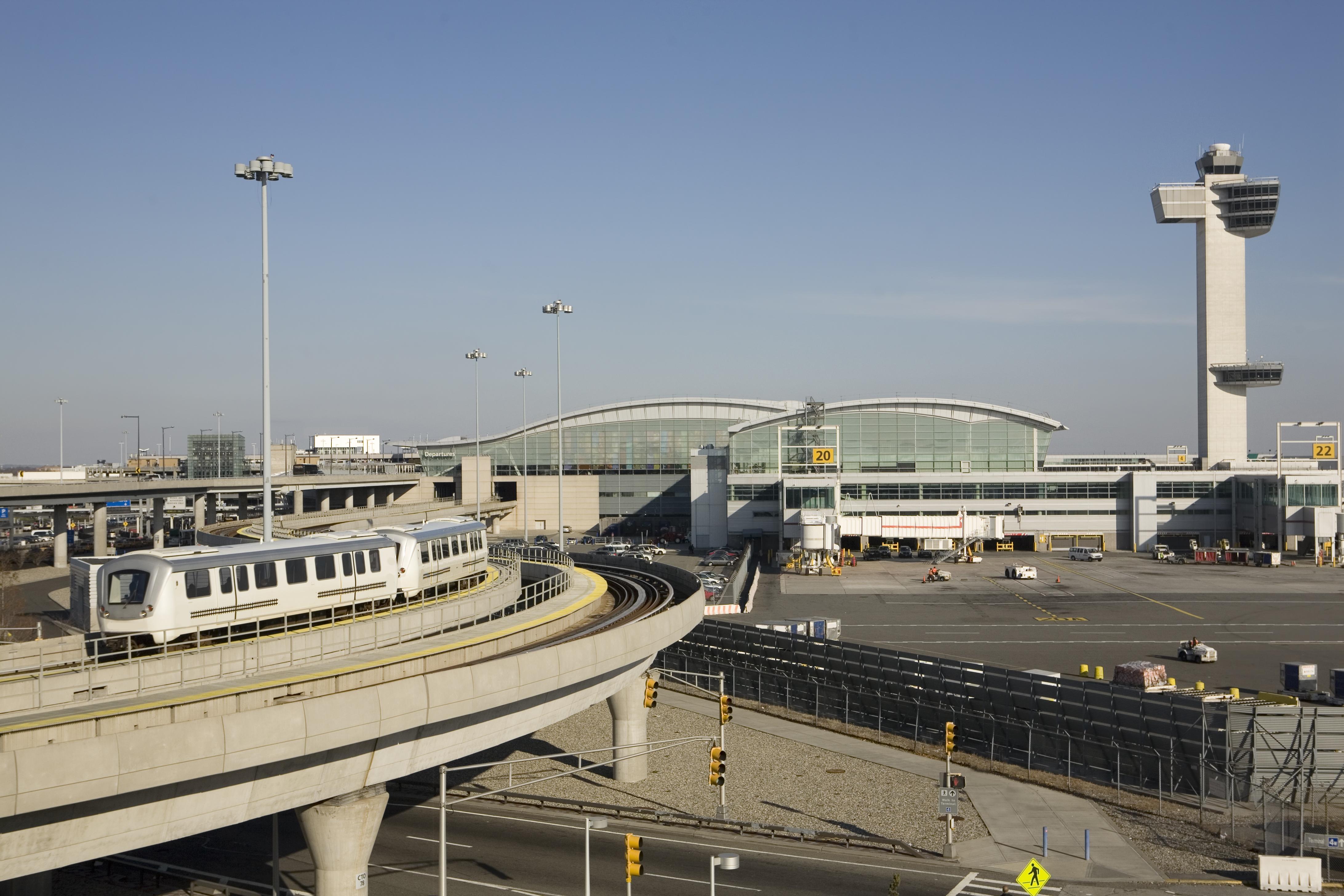 New York's John F. Kennedy International Airport.