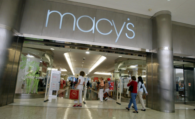 Stock image of Macy's store