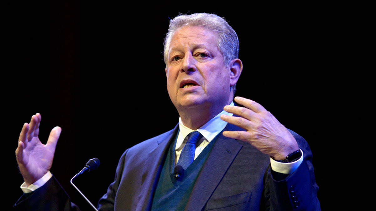 Former Vice President Al Gore discusses