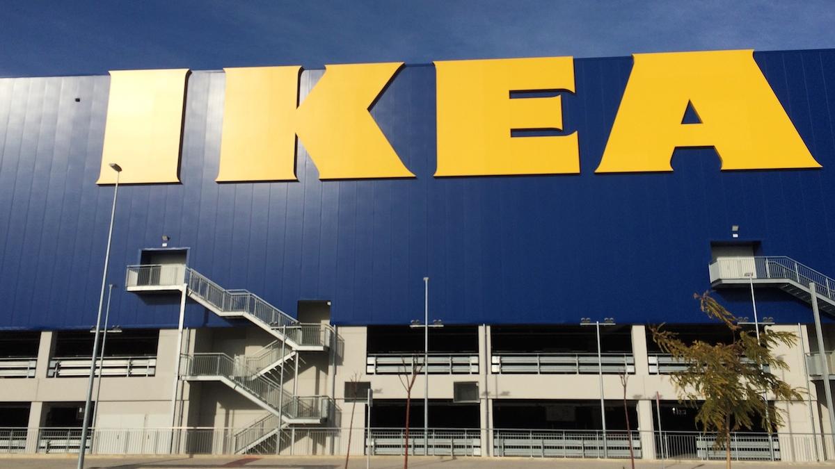 Ikea store.