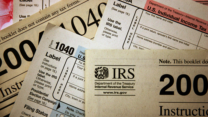 Current federal tax forms are distributed at the offices of the Internal Revenue Service November 1, 2005 in Chicago, Illinois. A presidential panel today recommended a complete overhaul of virtually every tax law for individuals and businesses.