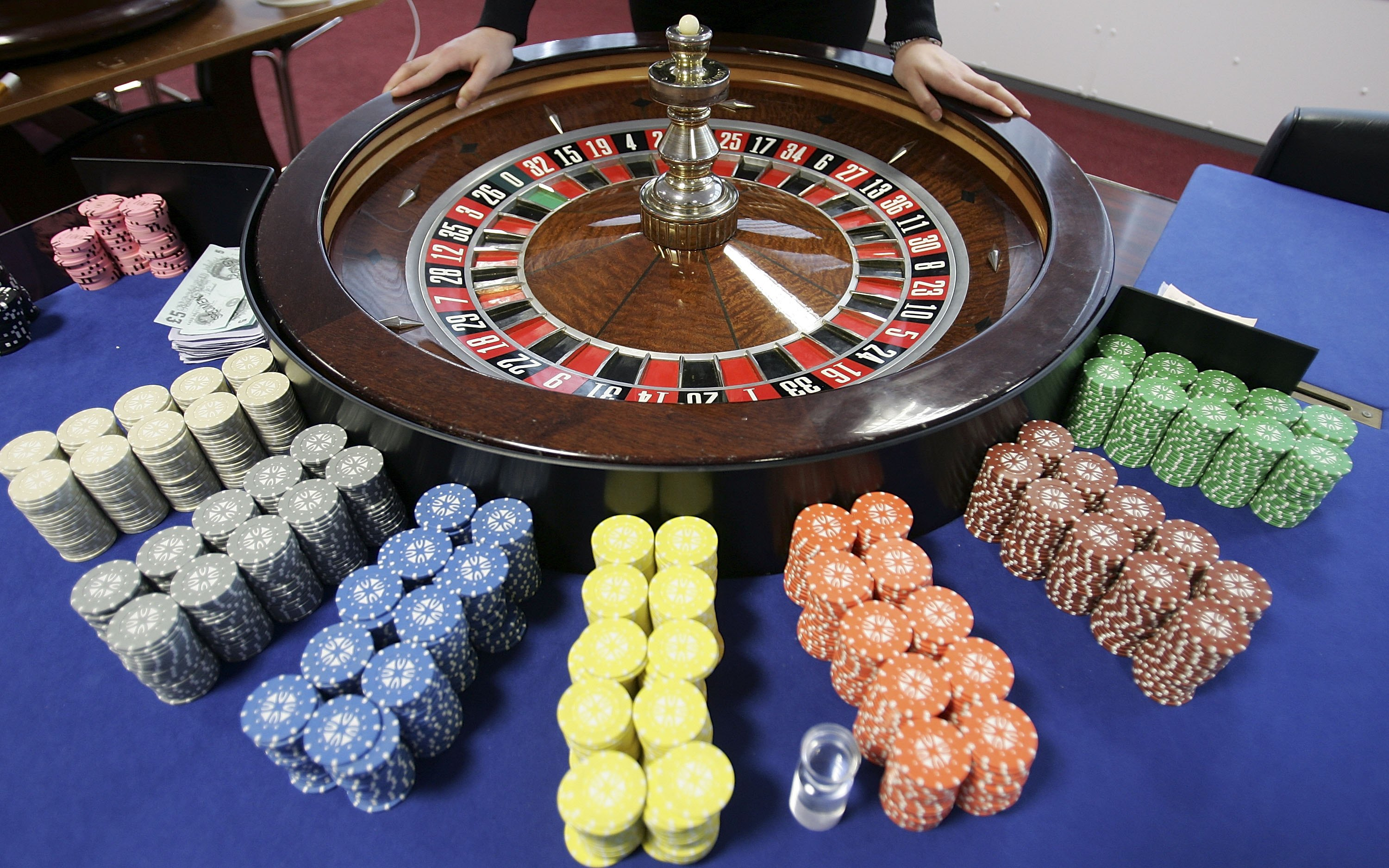 File image of Roulette table