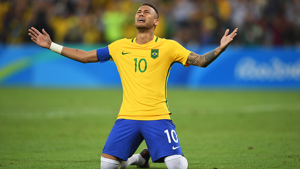 Neymar, Brazil's star forward, scored on a penalty kick that won the gold medal soccer match 5-4 for Brazil against Germany. It was Brazil's first Olympic soccer gold and a rematch for the two countries, which faced each other in the 2014 World Cup. Two years ago, Germany won 7-1.