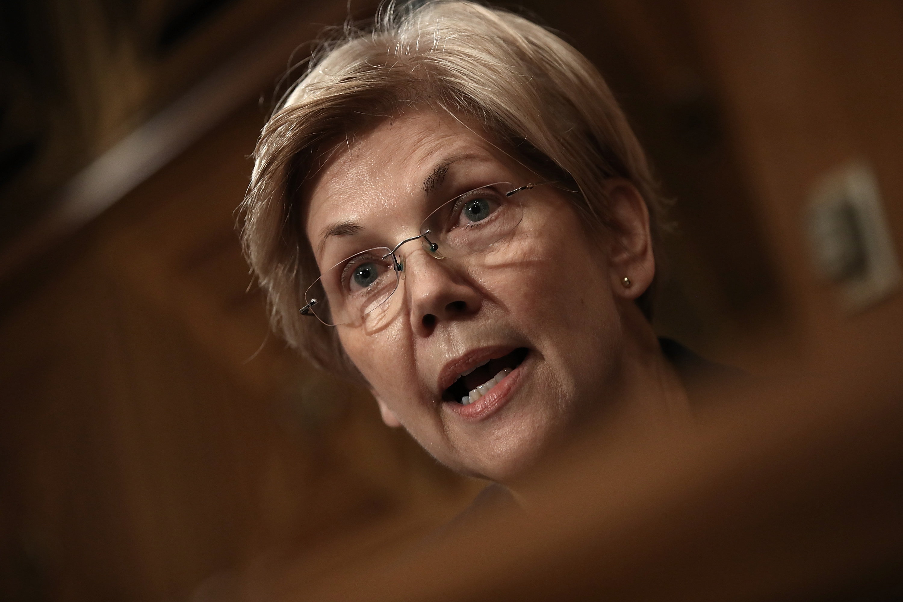 Sen. Elizabeth Warren (D-MA) (File photo by Win McNamee/Getty Images)
