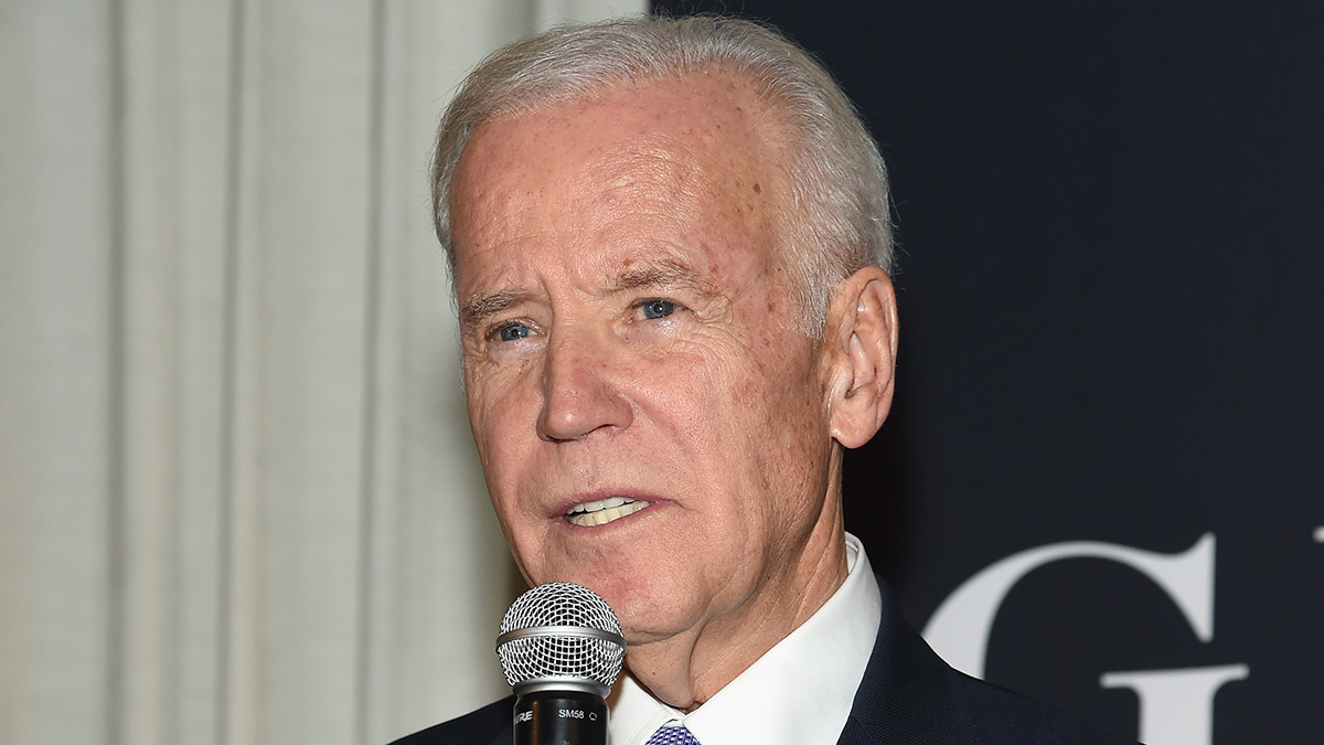 Vice President Joe Biden speaks onstage at the GILT and Ashley Biden celebration of the launch of exclusive Livelihood Collection at Spring Place on February 7, 2017 in New York City.