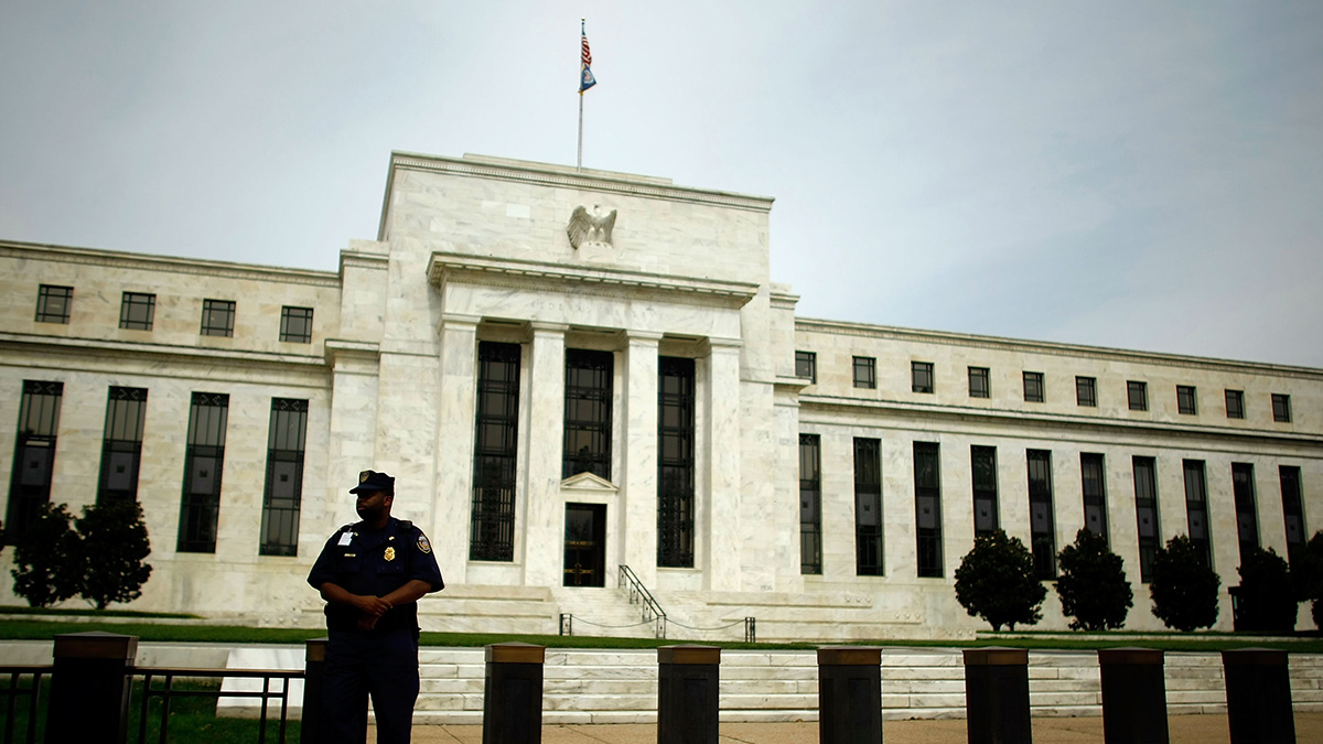 The Federal Reserve on Sept. 16, 2008 in Washington, DC.