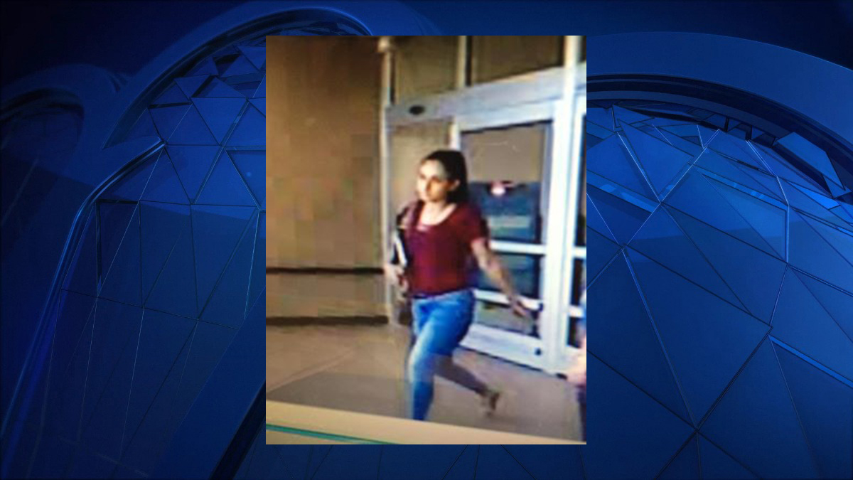 According to Groton police, the suspect pictured above was involved in a shoplifting incident at Walmart Saturday afternoon.