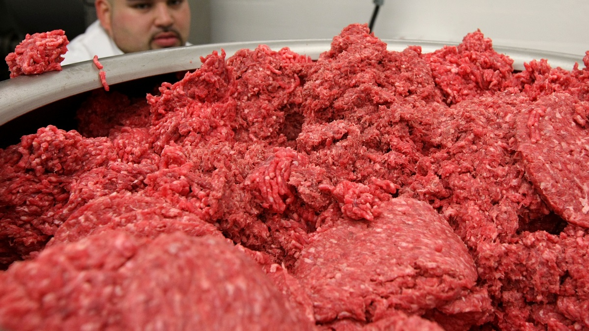 Approximately 99,260 pounds of raw ground beef products have been recalled by Swift Beef Company due to possible E.coli contamination, the U.S. Department of Agriculture's Food Safety and Inspection Service announced Saturday.