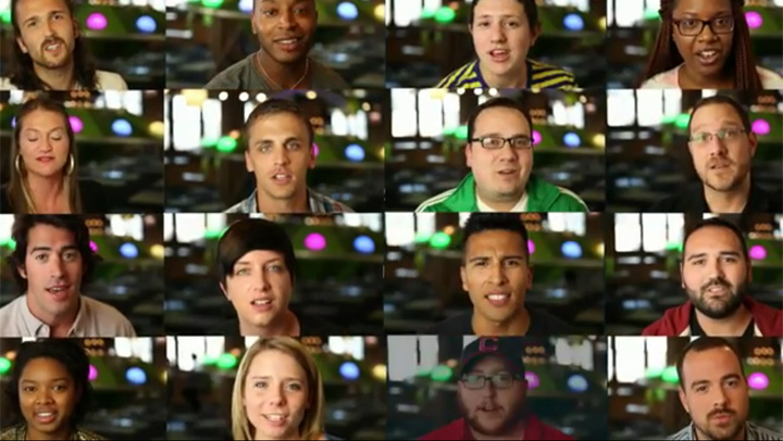 Groupon employees are the stars of their marriage equality video.