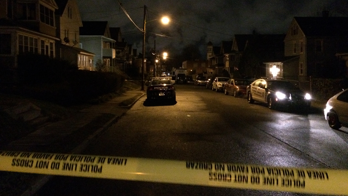 Hartford police are investigating a shooting on King Street Wednesday morning.