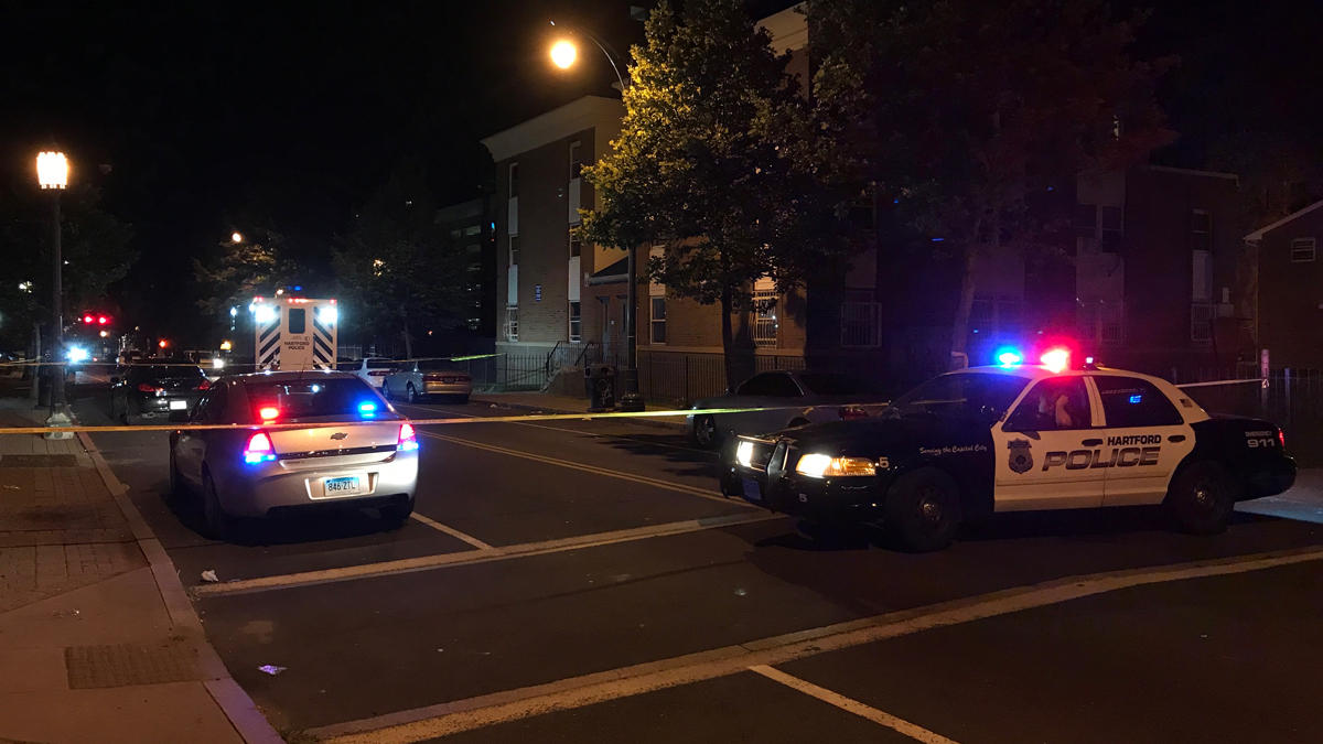 A 25-year-old East Hartford man was killed in a shooting at Park and Wadsworth Streets in Hartford overnight.