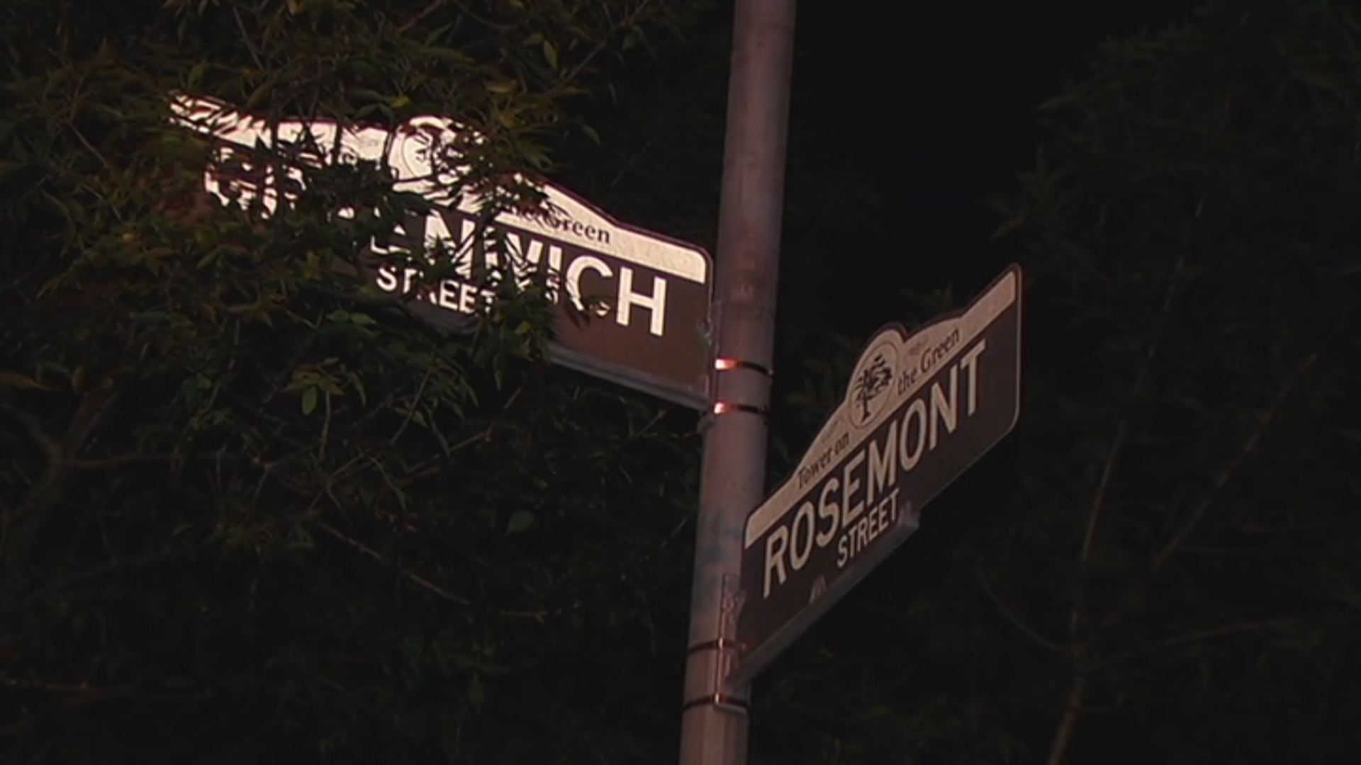 One person was shot on Rosemont Street in Hartford last night.