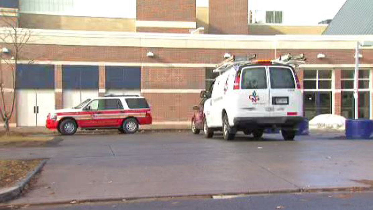 Emergency crews responded and evacuated students when flooding in the pump area of the pool at Hartford Public High School started edging close to an electrical panel.