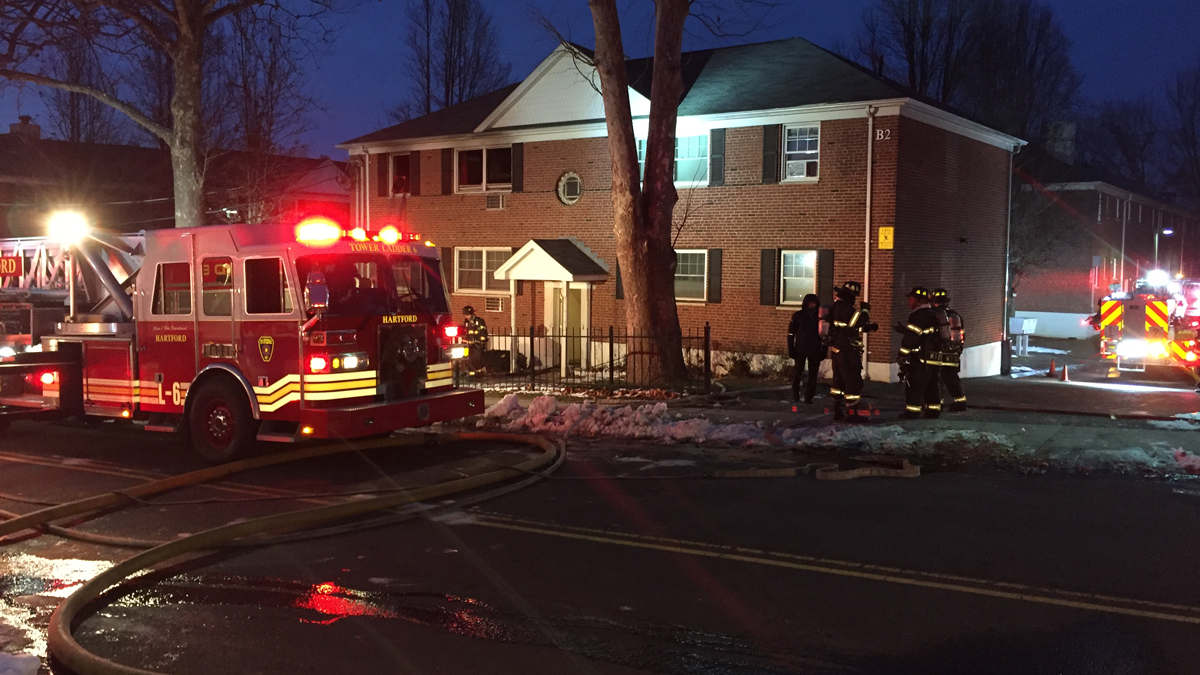 Fire crews responded to the Dillon Place Apartments on Hendricxsen Avenue Monday night.