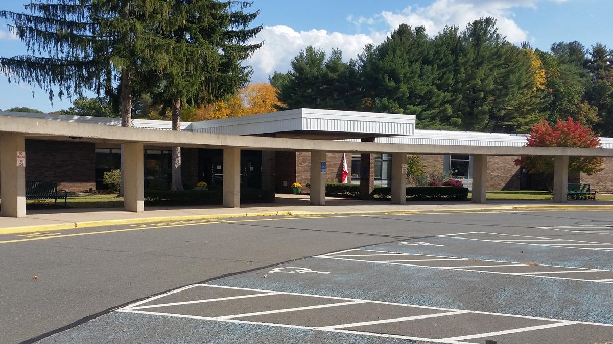 Highland Elementary School on Highland Avenue in Cheshire