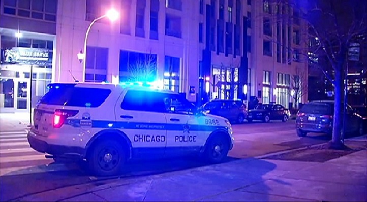 Chicago police are investigating a fatal shooting that took place inside a Near West Side high-rise Wednesday night.