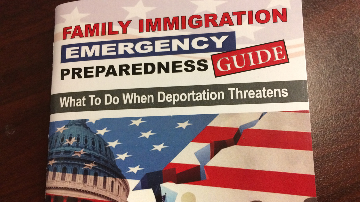 The city of New Haven has created a Family Immigration Emergency Guide to help immigrants navigate the process and keep families calm in the face of uncertainty.