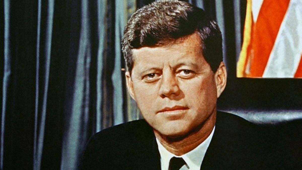 Born into a prominent political family, John F. Kennedy was the 35th President of the United States, serving from 1961 until his death in 1963. Kennedy was assassinated in Dallas Nov. 22, 1963 at 12:30 p.m. CT. He was riding with his motorcade through Downtown Dallas when he was fatally shot by a sniper. He was shot three times in the throat, back and head. The final shot to the head proved to be fatal. Kennedy was taken to the hospital for treatment but was pronounced dead at 1:00 p.m. CT. He is best known for his handling of the Cuban Missile Crisis and providing funding to NASA to promote space exploration at the height of the