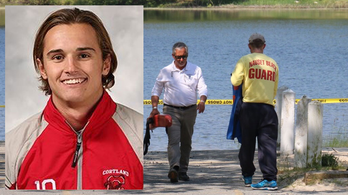 Jack Jakubek, 22, of Newburgh, New York, drowned while completing a lifeguard fitness test on Cape Code. Jakubek was a star member of the swim team at the State University of New York-Cortland and had recently graduated.