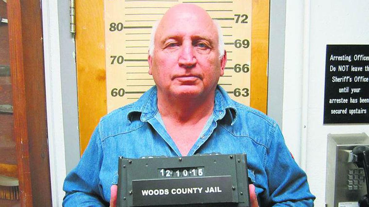John Edward Parsley in an arrest photo.