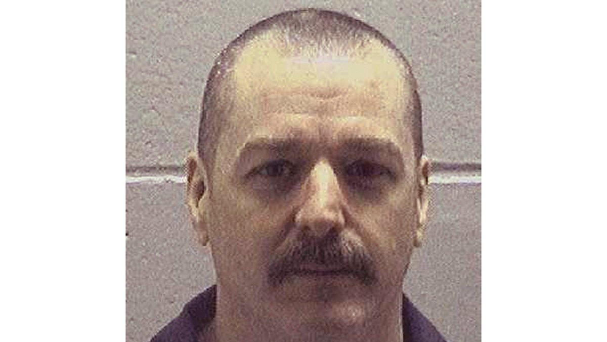 Georgia death row inmate Marcus Ray Johnson is shown in this undated photo provided by the Georgia Department of Corrections. The Georgia Board of Pardons and Paroles plans to hold a clemency hearing Wednesday, Nov. 18, 2015, for Johnson who is set for execution Thursday. He was convicted in April 1998 in the March 1994 rape and murder of Angela Sizemore.