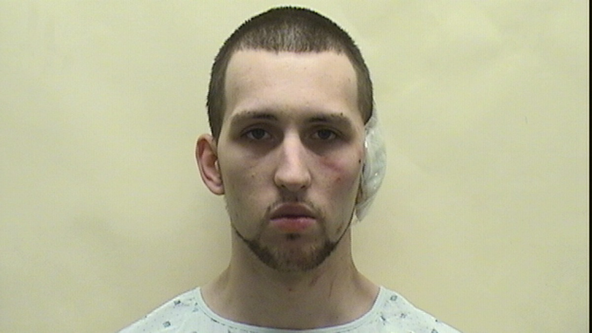 Joseph Patrick Nevico is charged in an incident in which police say he dragged a police officer.
