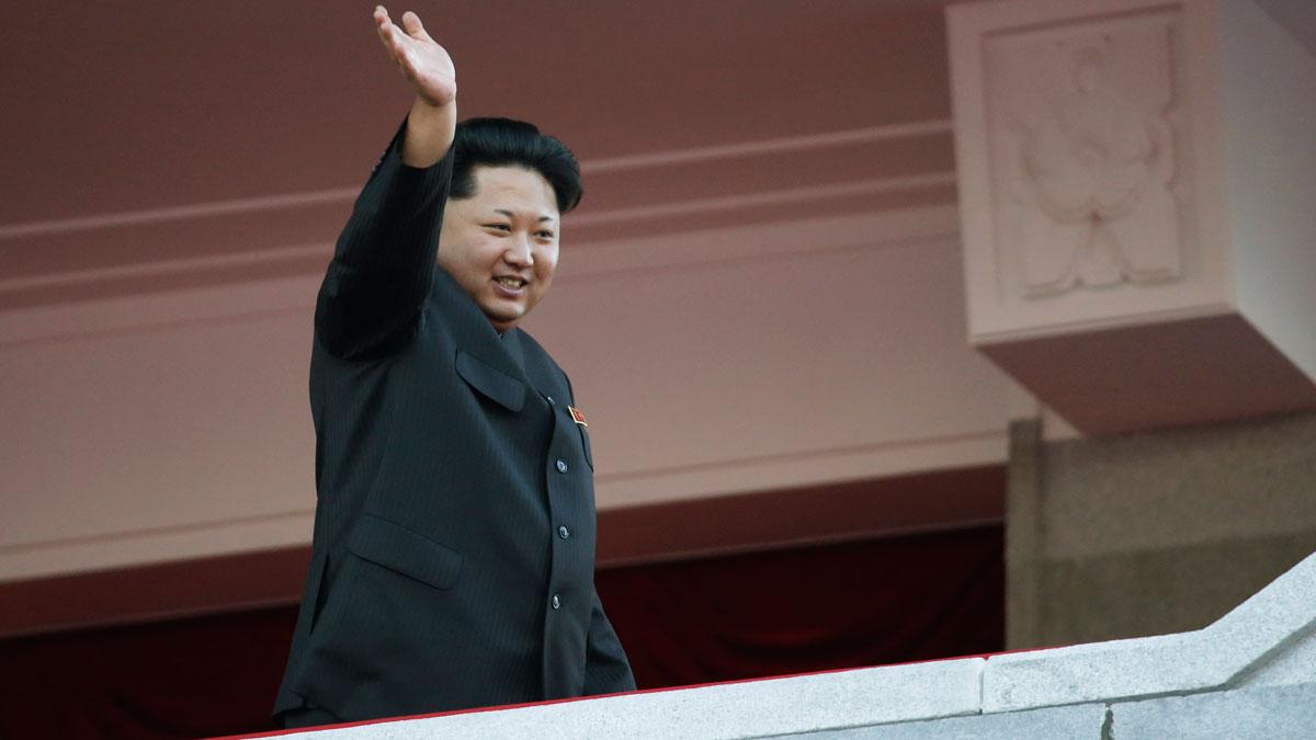 File photo: North Korean leader Kim Jong Un waves at a parade in Pyongyang, North Korea, Saturday, Oct. 10, 2015.