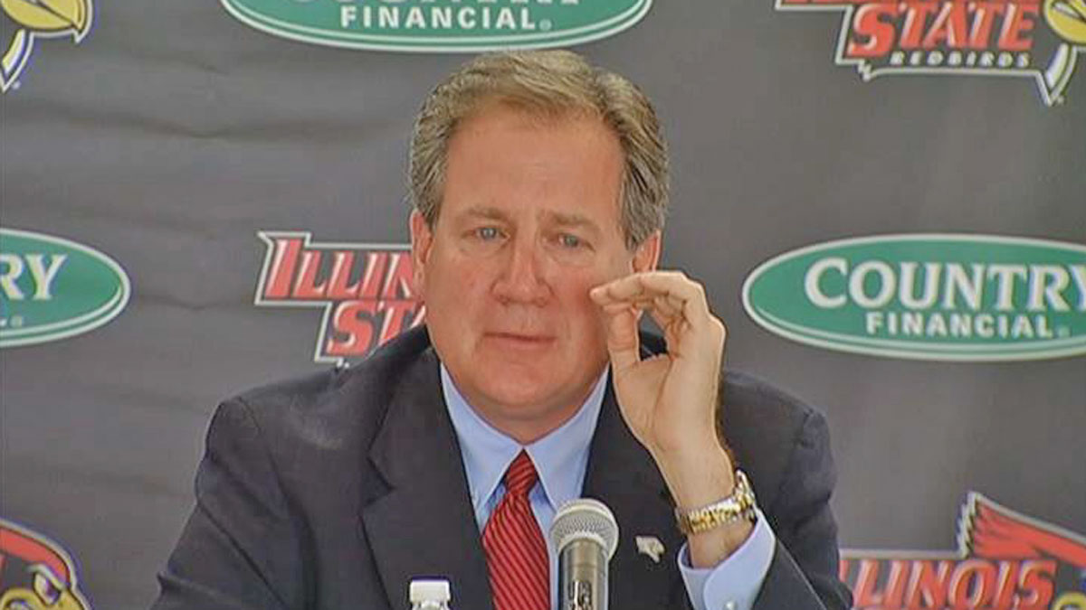 Illinois State University Athletics Director Larry Lyons