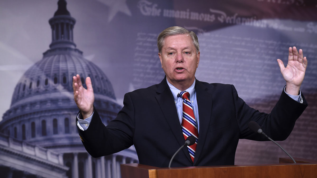 Sen. Lindsey Graham, R-S.C., said Sunday on NBC's