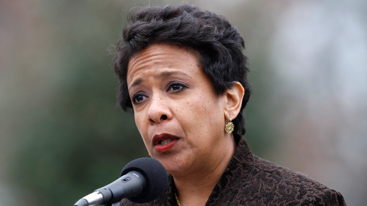 Attorney General Loretta Lynch on Monday, Dec. 21, 2015.
