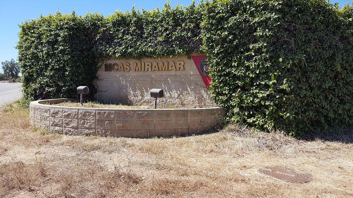 MCAS Miramar near San Diego, California