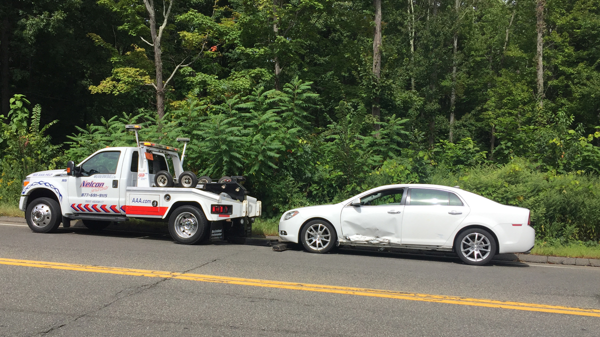 Meriden police are investigating an accident involving a motorcycle on West Main Street Saturday.