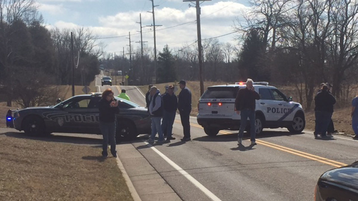 Four students were hurt in a shooting at Madison High School in Ohio on Monday, Feb. 29, 2016, NBC affiliate WLWT reports.