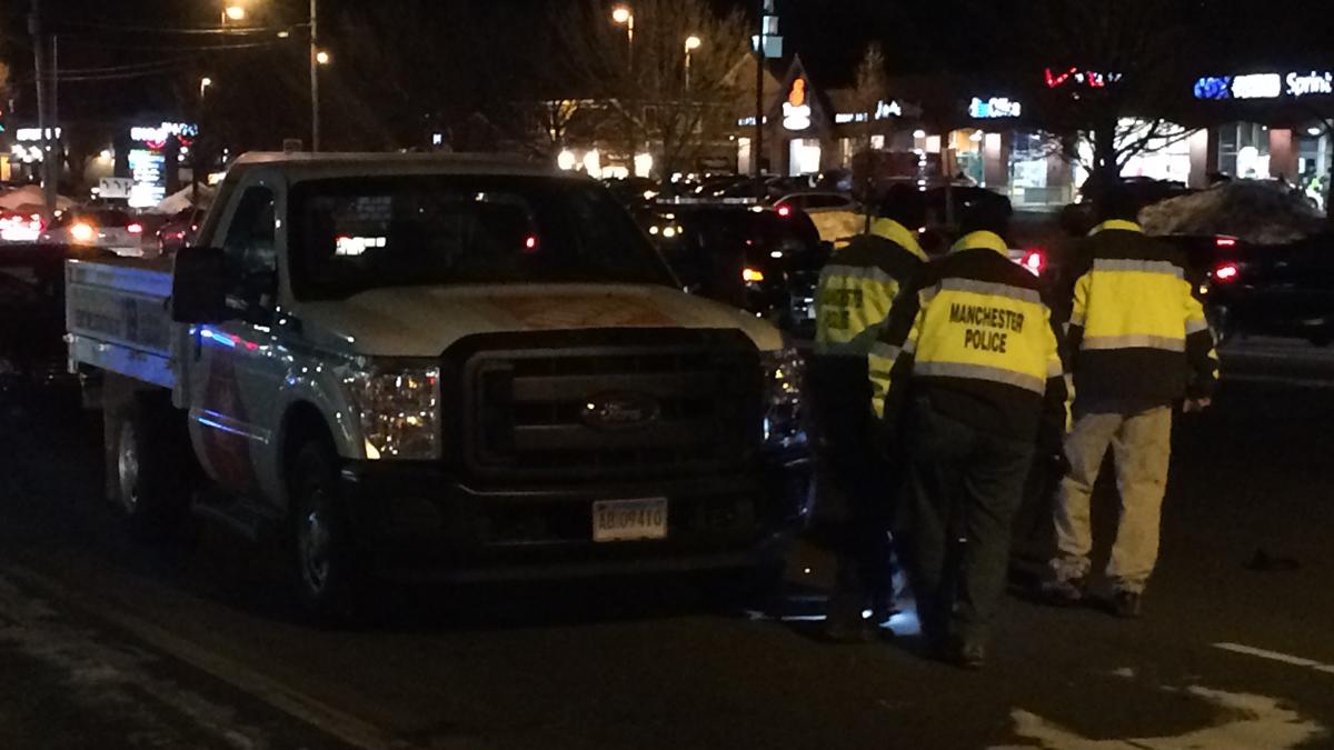 A man was critically injured when he was struck by a Home Depot rental truck Friday evening.