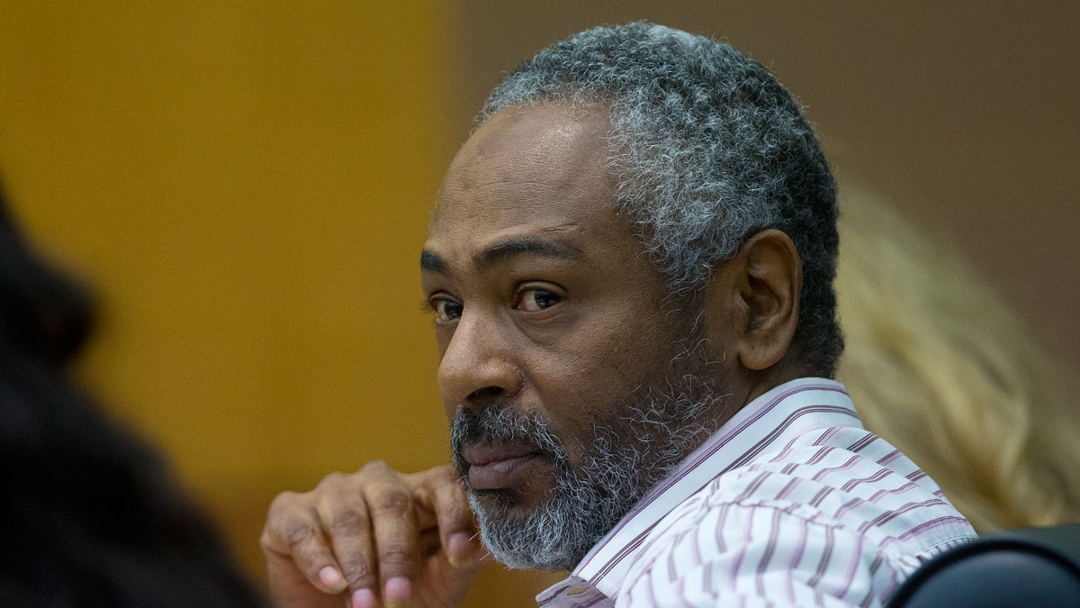 Martin Blackwell watches arguments in his trial in Atlanta, on Aug. 24, 2016. Blackwell was convicted of pouring hot water two gay men as they slept and sentenced to 40 years in prison.
