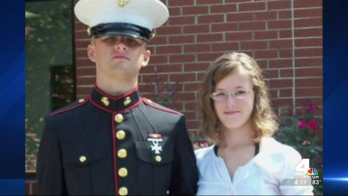 Erin Corwin, the wife of a Marine based at Twentynine Palms, went missing in June. Investigators recovered her body August 17 and a fellow Marine has been arrested and charged with her murder.