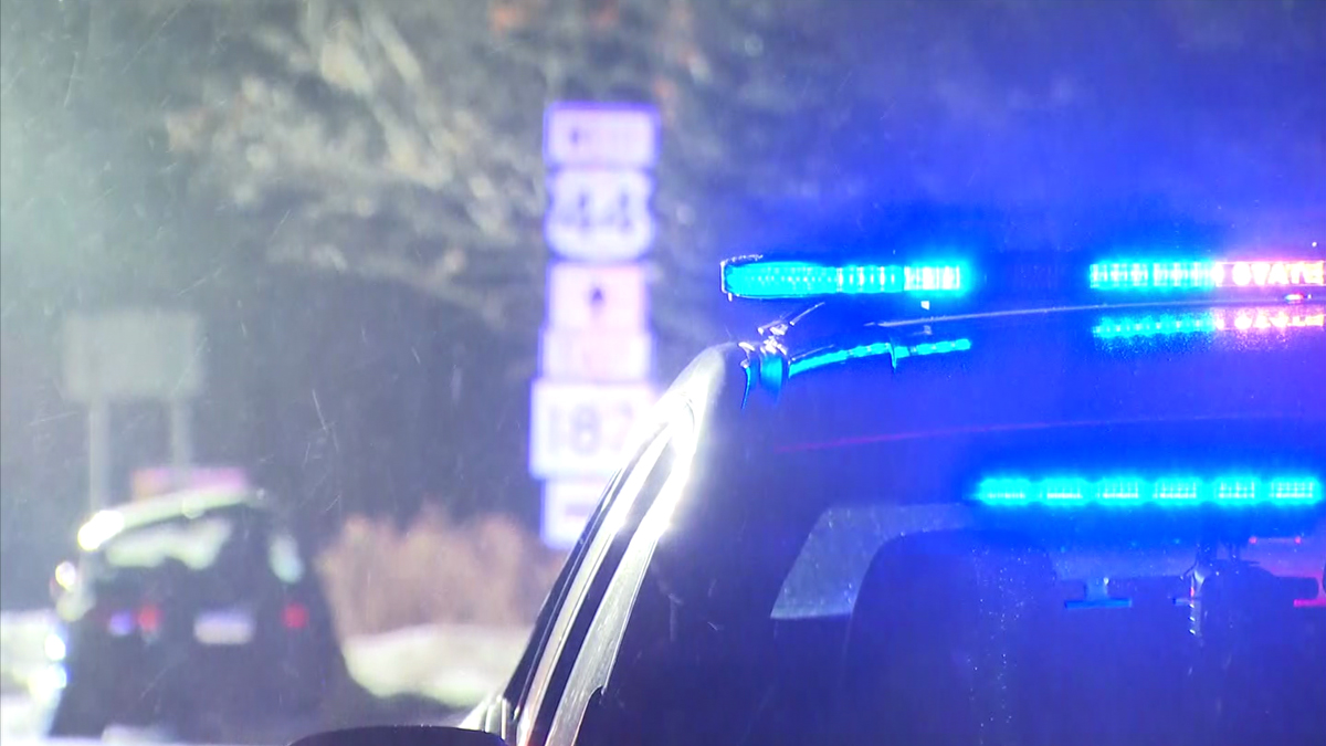 Two people were hurt, one seriously, in a crash on Route 44 in Norfolk Tuesday night.