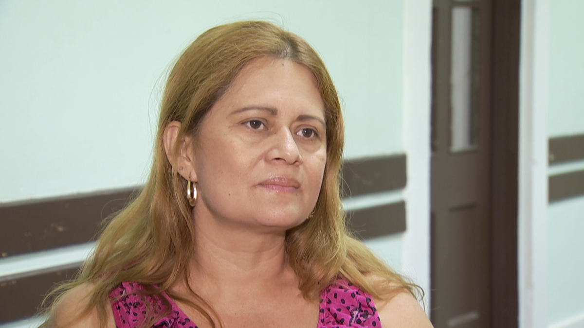 Nury Chavarria has been in the U.S. for 24 years and is seeking refuge in a church after ICE issued a deportation order for her.