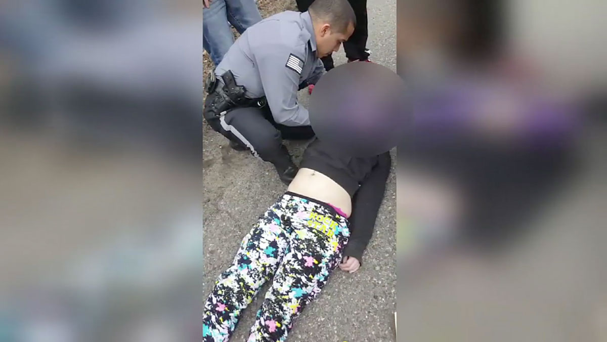 Cellphone video shows first responders in South Jersey administering Narcan, an opioid antidote, to a woman suffering a heroin overdose.