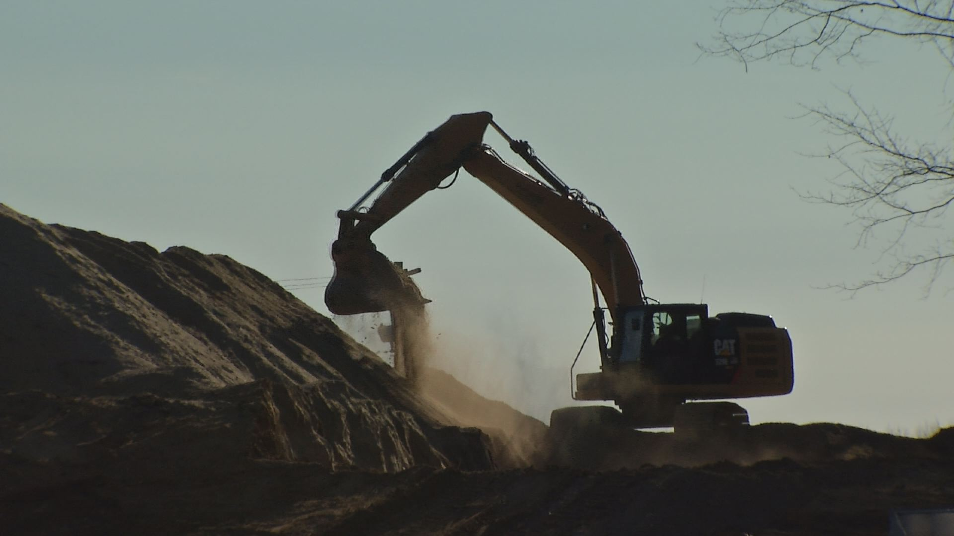 Construction is underway on the new Sandy Hook Elementary School.