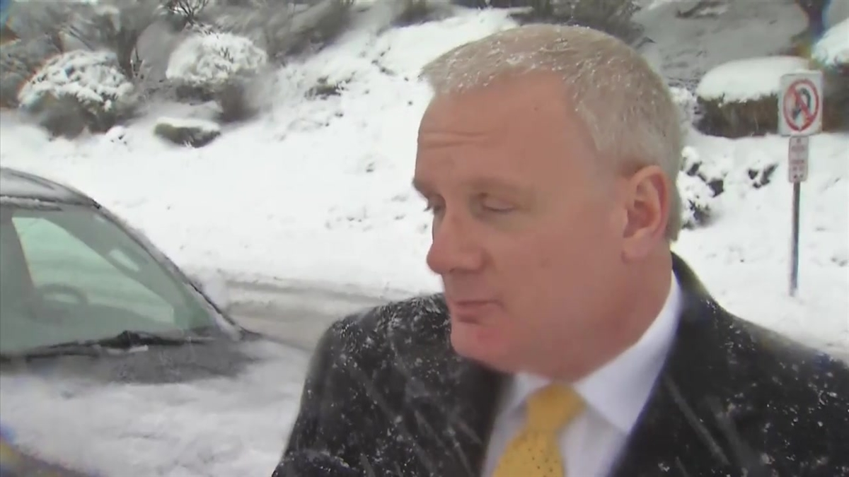 Newington Supt. Dr. William Collins stands by the decision to keep schools open despite the snow today.