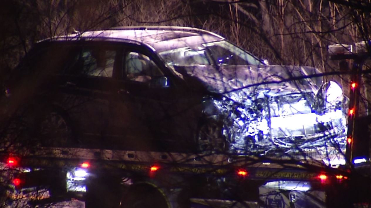 One person was seriously injured in a crash following a police pursuit through Monroe and Newtown Tuesday night.