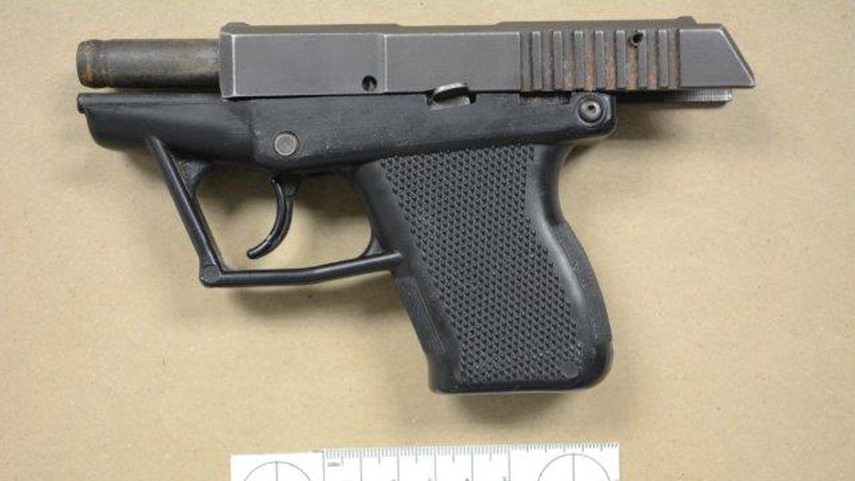 Norwalk police said they seized this handgun from a juvenile suspect.