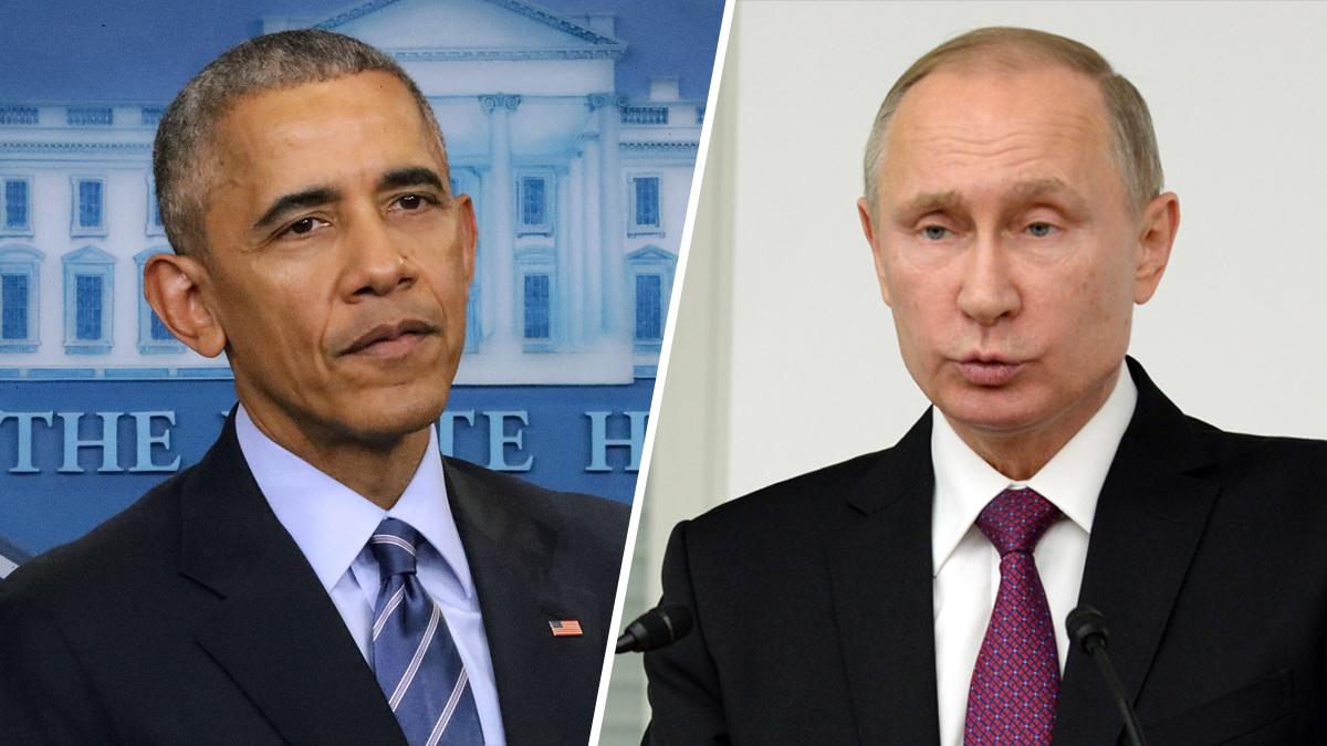 U.S. President Barack Obama, left, and Russian President Vladimir Putin.