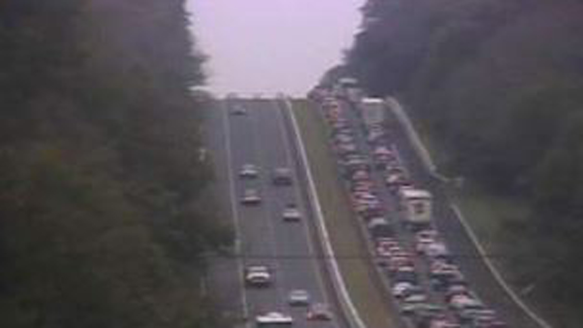 I-95 South Reopens in Old Lyme After Motorcycle Crash