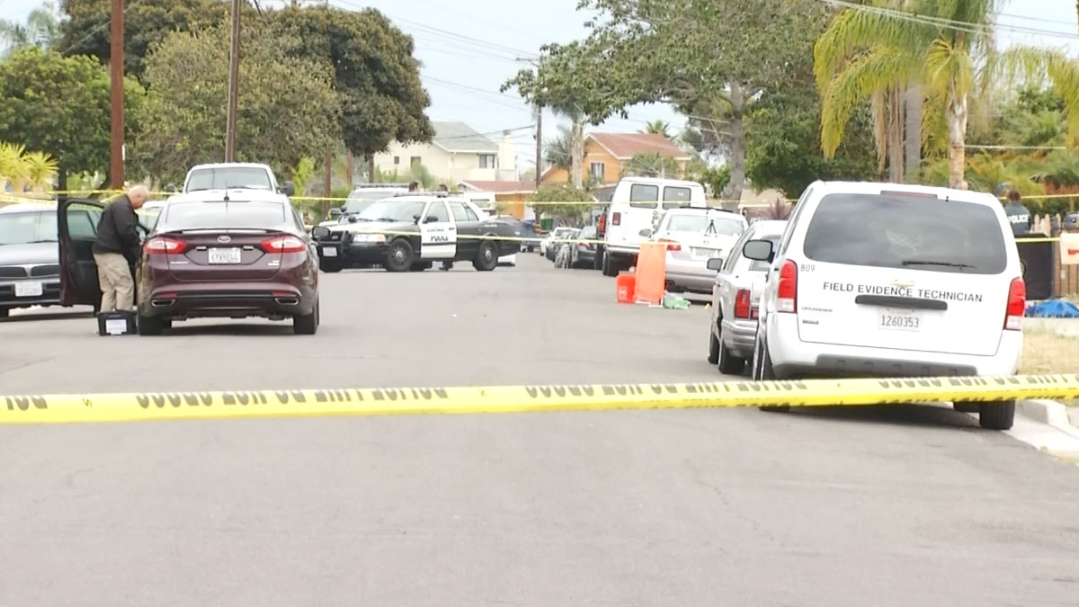 Neighbors armed themselves with a knife and a handgun after the babysitter called them for help.