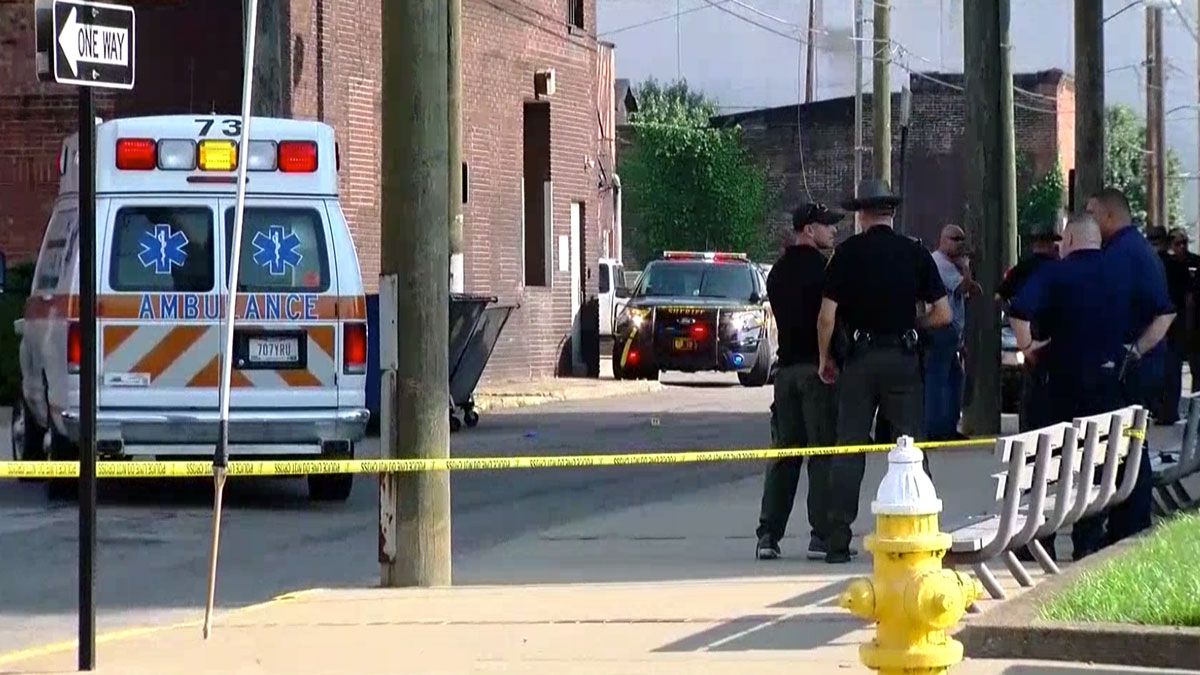 A judge was shot on his way to the Jefferson County Courthouse in Steubenville, Ohio, on Monday, August 21, 2017.